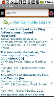 Denton Public Library - screenshot thumbnail