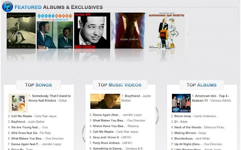 Music Hits of iTunes n Amazon - screenshot thumbnail