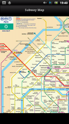 Brussels Subway Map