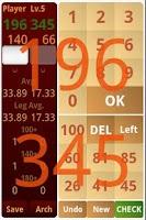 Screenshot of Darts Practice Free