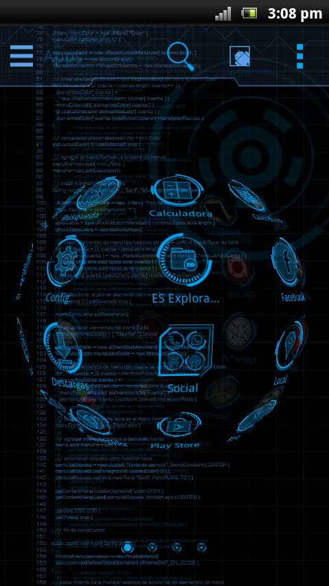 JARVIS MARK Theme - Android Apps on Google Play
