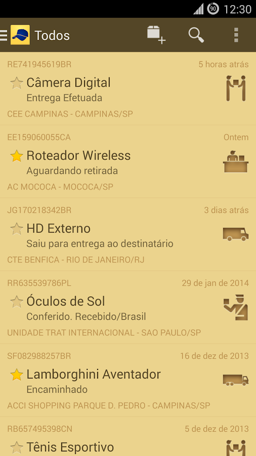 Carteiro - screenshot