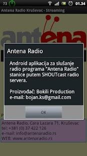 Antena Radio Krusevac - screenshot thumbnail
