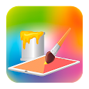 Paint for Kids mobile app icon