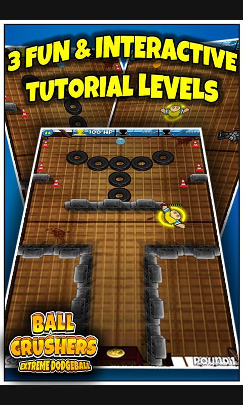 BallCrushers Extreme Dodgeball- screenshot
