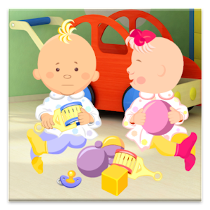 Talking Baby Twins Icon