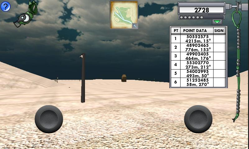 Land Navigation - screenshot