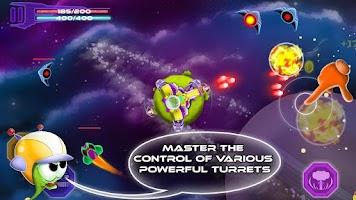 Screenshot of Space Defense - Shooting Game