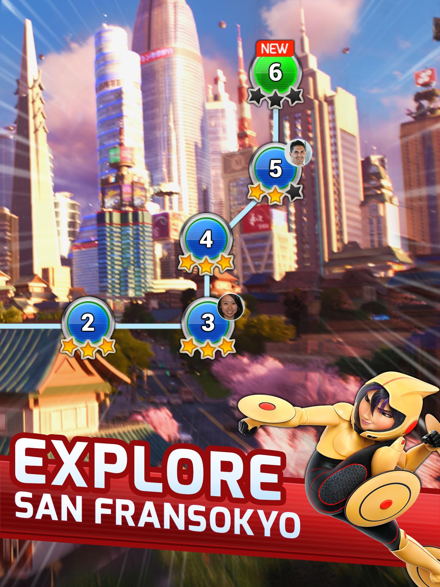 Big Hero 6 Bot Fight screenshot #18