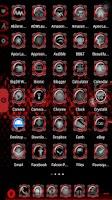 Screenshot of Bionic Launcher Theme Red