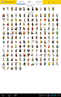 Screenshot of Minifig Collector for LEGO®