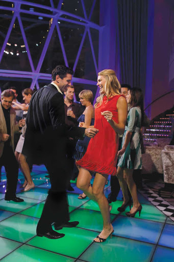 Royal-Caribbean-Dazzles-lounge - Dance the night away to a live band at Dazzles nightclub aboard  Oasis of the Seas.