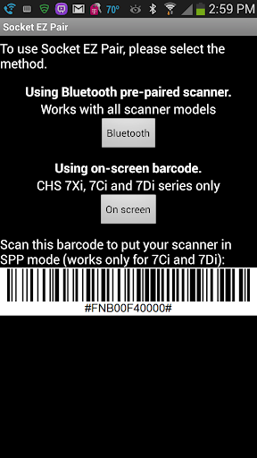 SocketScan 10 KeyboardWedge