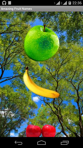Amazing Fruit Names