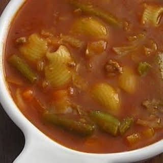 Hamburger Vegetable Soup.