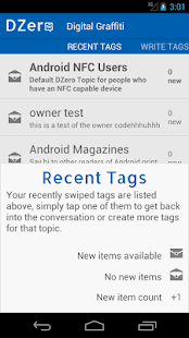 DZero - NFC Conversations - screenshot thumbnail