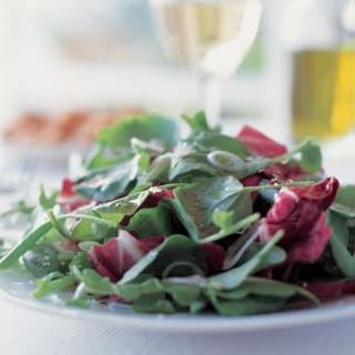 Salad of Roman Field Greens (Insalata Verde)