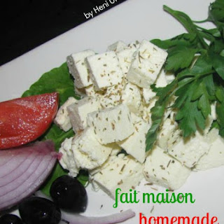 "DIY No - Rennet ""Feta"" Cheese."