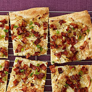 Bacon & Onion Tart.