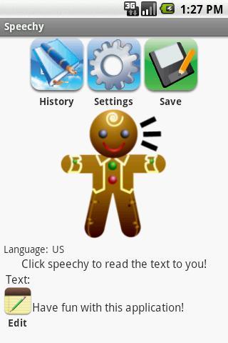 Speechy AdFree- screenshot