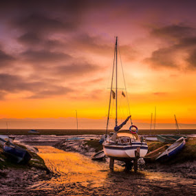 Winter Slipway 2.jpg by Ian Yates ヅ - Landscapes Waterscapes