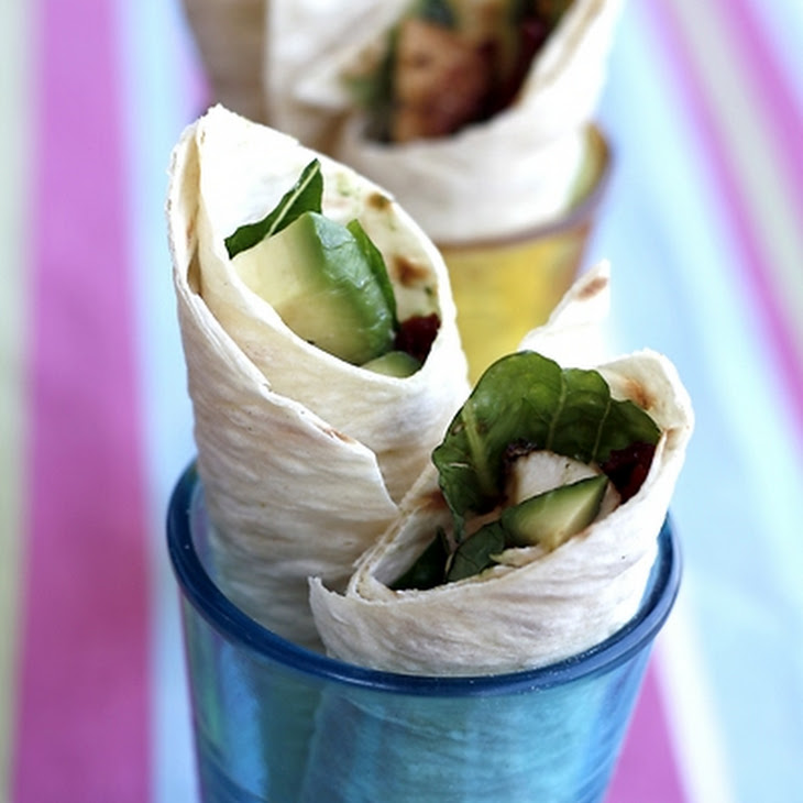 Marinated Chicken Wraps Recipe