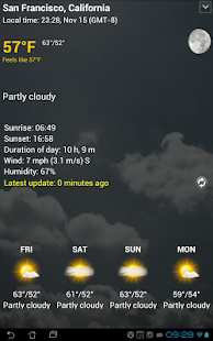 Transparent clock & weather Screenshot 20