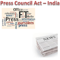 Press Council Act of India