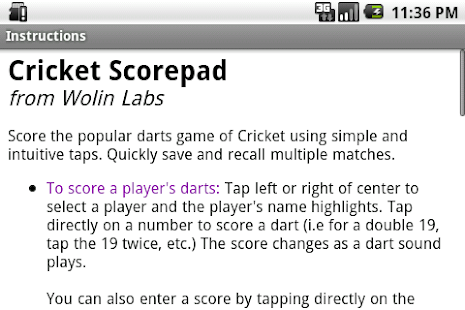 Cricket Scorepad- screenshot thumbnail