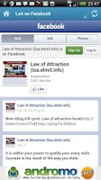 Screenshot of Law of Attraction - Daily Info