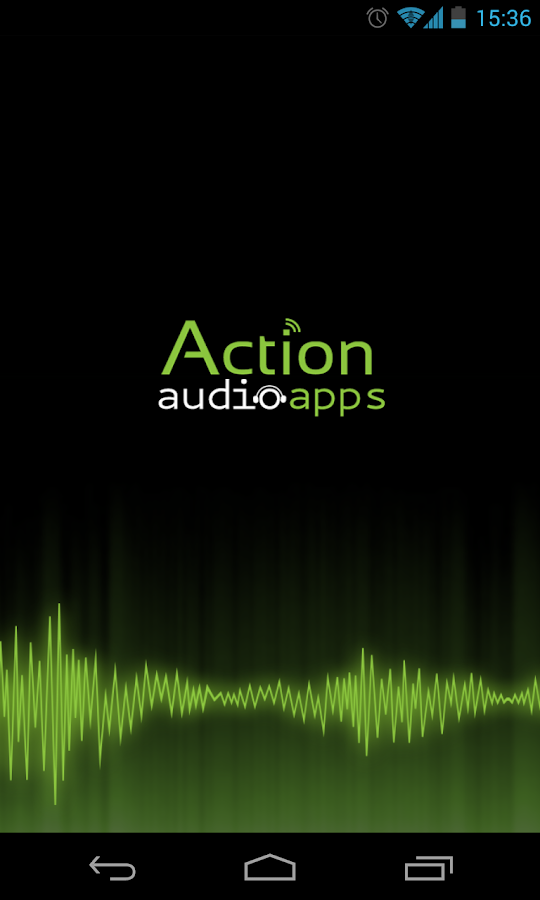 Action Audio- screenshot