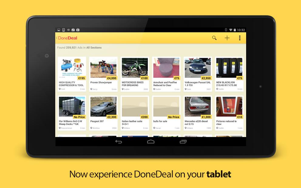 DoneDeal - screenshot