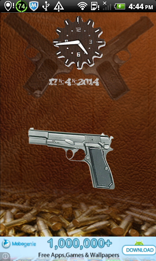 hand gun screen lock