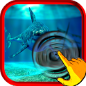Angry Shark Attack by Sea Ship icon