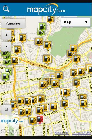 Mapcity 2.0 - screenshot
