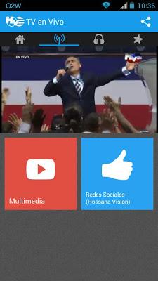 Hosanna Visión - screenshot