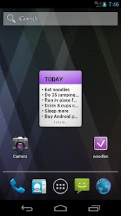 noodles - To Do List- screenshot thumbnail