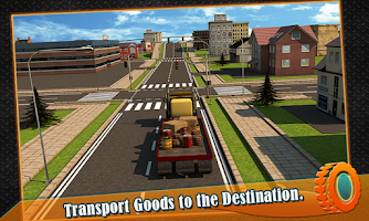 Screenshot of Transport Trucker 3D