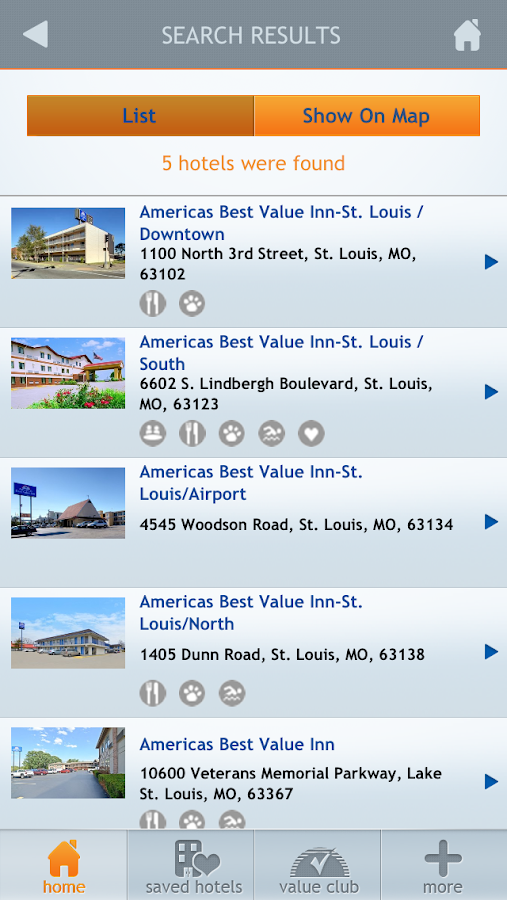 Americas Best Value Inn - screenshot