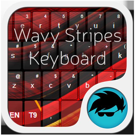波浪形的條紋鍵盤 個人化 App LOGO-硬是要APP
