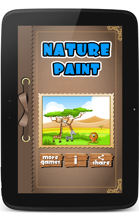 Kidoko Nature Paint Free- screenshot