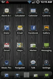 Glass Sense ADW Theme - screenshot thumbnail