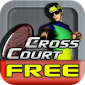 Cross Court Tennis Free icon