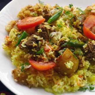 Lamb or Chicken Biryani