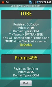 Domain Coupons by DPM screenshot 1