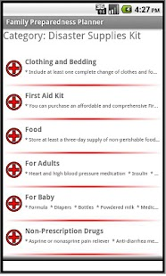 Family Preparedness Planner - screenshot thumbnail