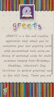 GREETS Animated Greeting Card- screenshot thumbnail