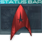 New Trek Status Bar