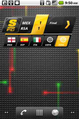 ScoreMobile FC Football Scores - screenshot