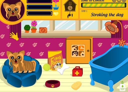 Pet dog Care Simulation